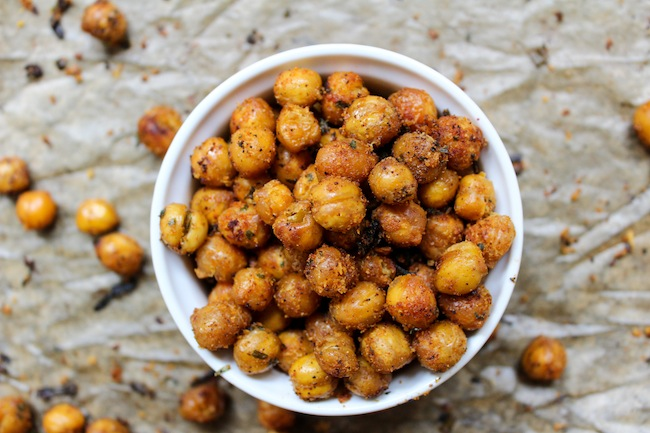 RANCH ROASTED CHICKPEAS RECIPE