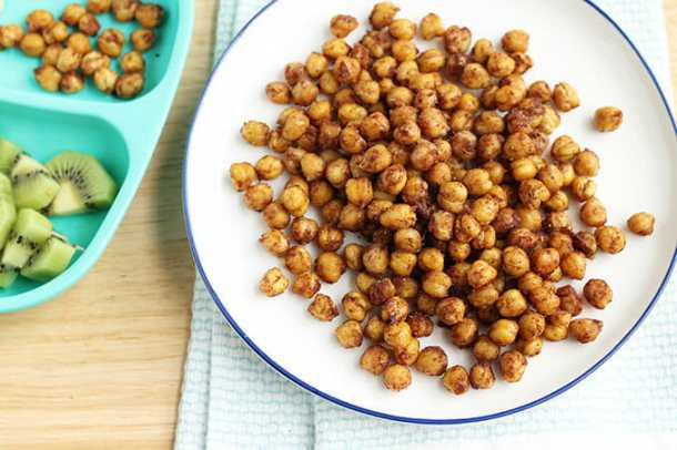 SOFT ROASTED CHICKPEAS RECIPE A SALTY-SWEET KID SNACK