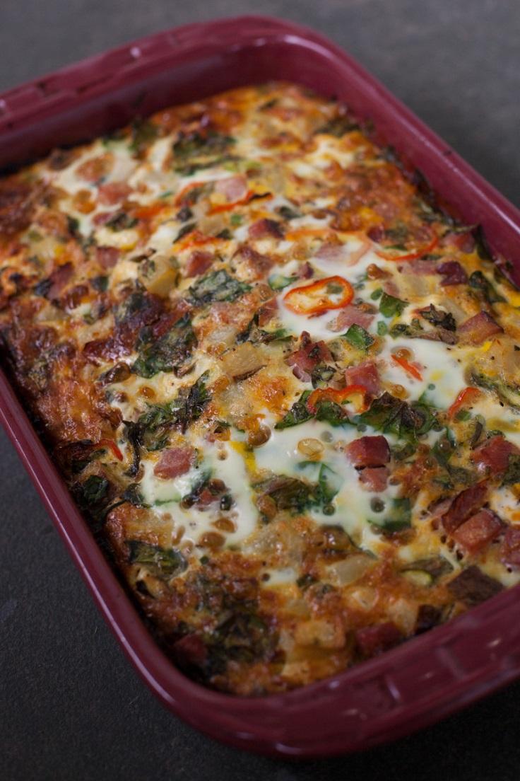 ham-and-veggie-casserole