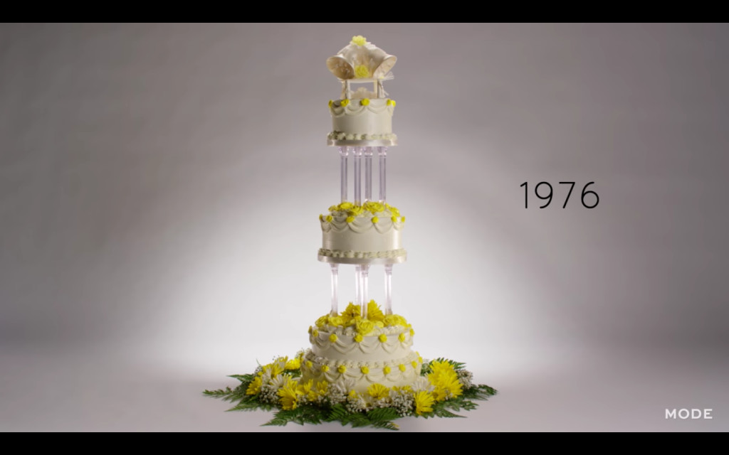100 Years Of Wedding Cakes  100 Years of Wedding Cakes in Less Than 3 Minutes Video