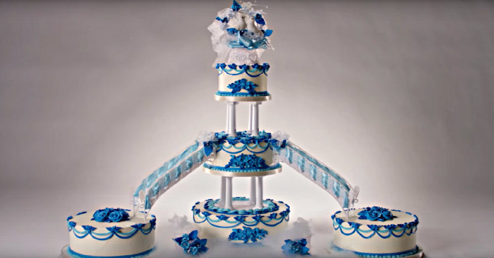 100 Years Of Wedding Cakes  See 100 Years of Wedding Cakes in Less Than 3 Minutes – 12