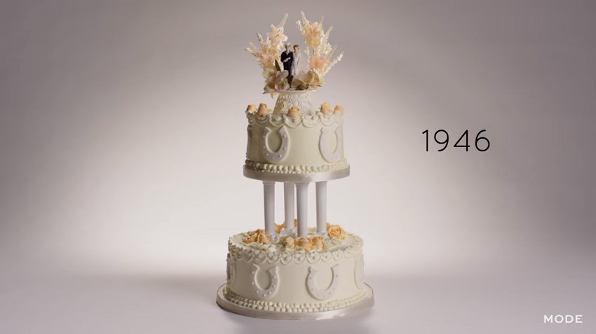 100 Years Of Wedding Cakes  Take A Look Through Time With 100 Years Wedding Cakes