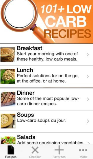 101 Healthy Low Carb Recipes  101 Low Carb Recipes app for ios – Review & Download IPA