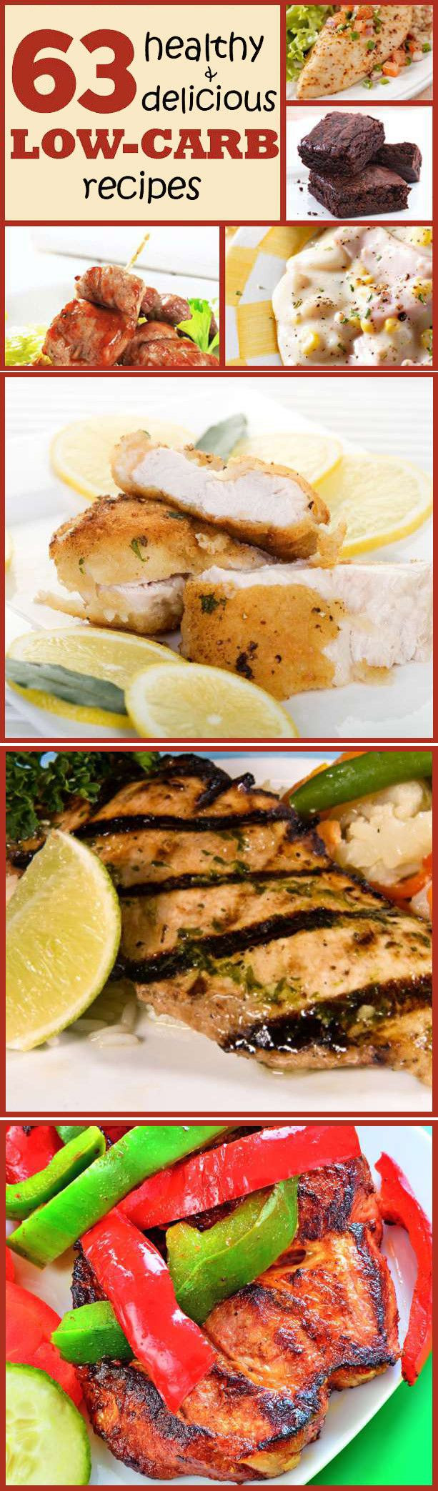 101 Healthy Low Carb Recipes  101 best images about Atkins Diet recipes on Pinterest
