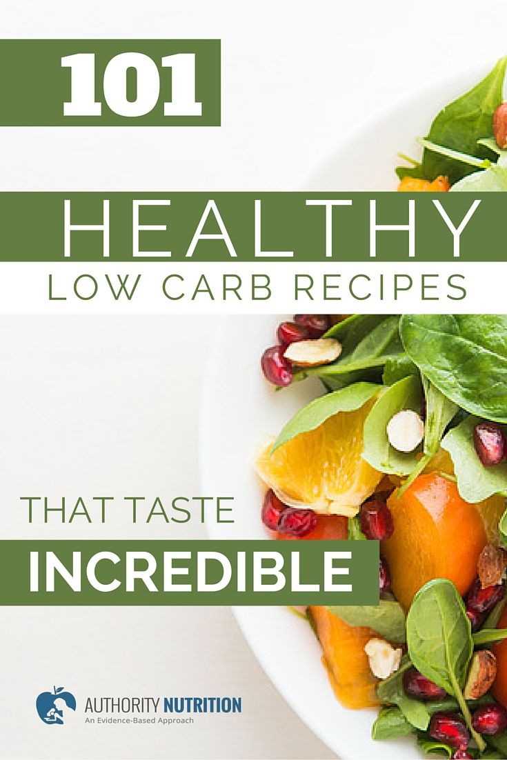 101 Healthy Low Carb Recipes  A list of 101 healthy low carb recipes with photos and