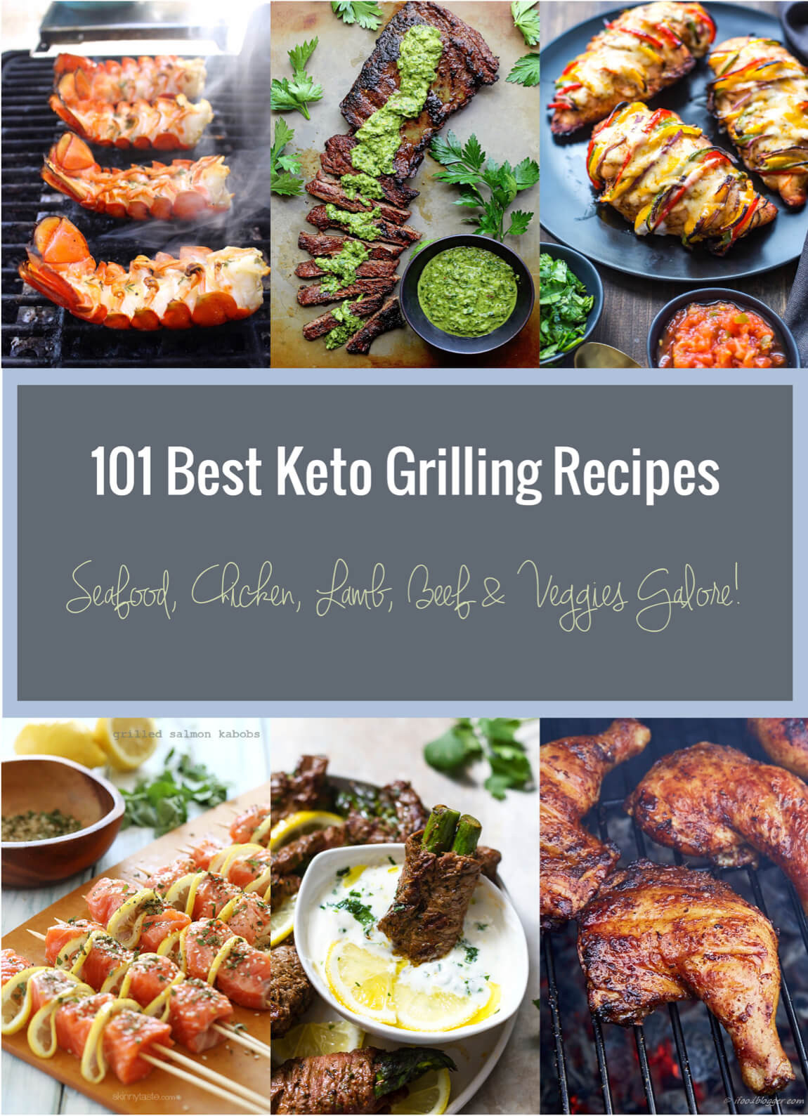 101 Healthy Low Carb Recipes  101 Best Keto Grilling Recipes Low Carb
