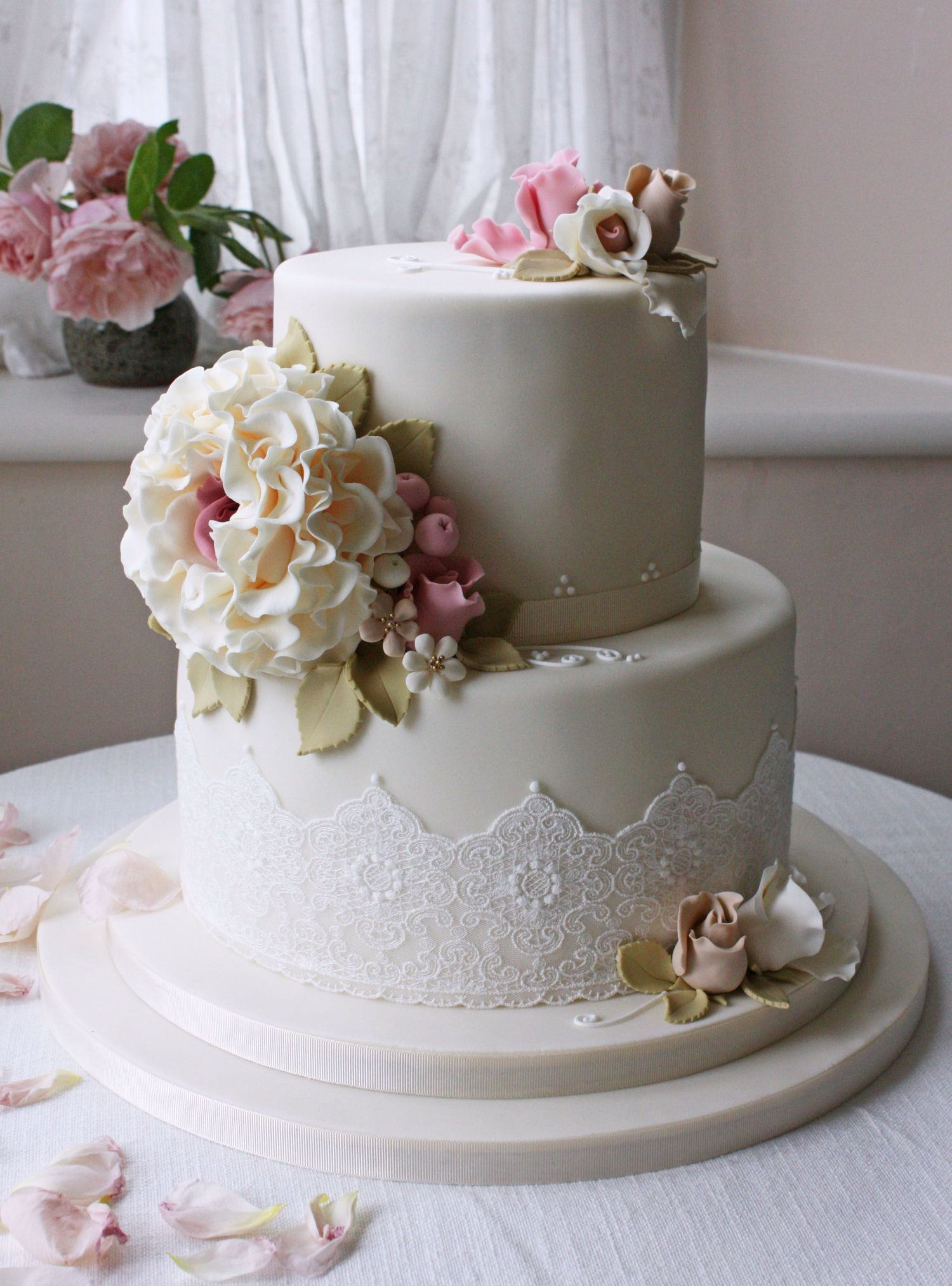 2 Tier Wedding Cakes  Wedding Cake Ideas