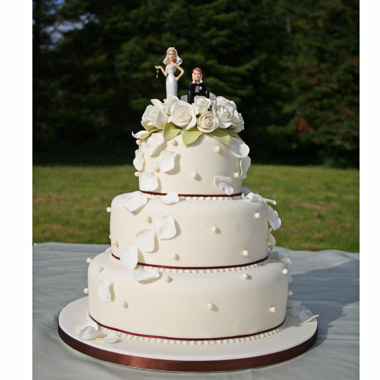 3 Layer Wedding Cakes  Three Layer Wedding Cakes