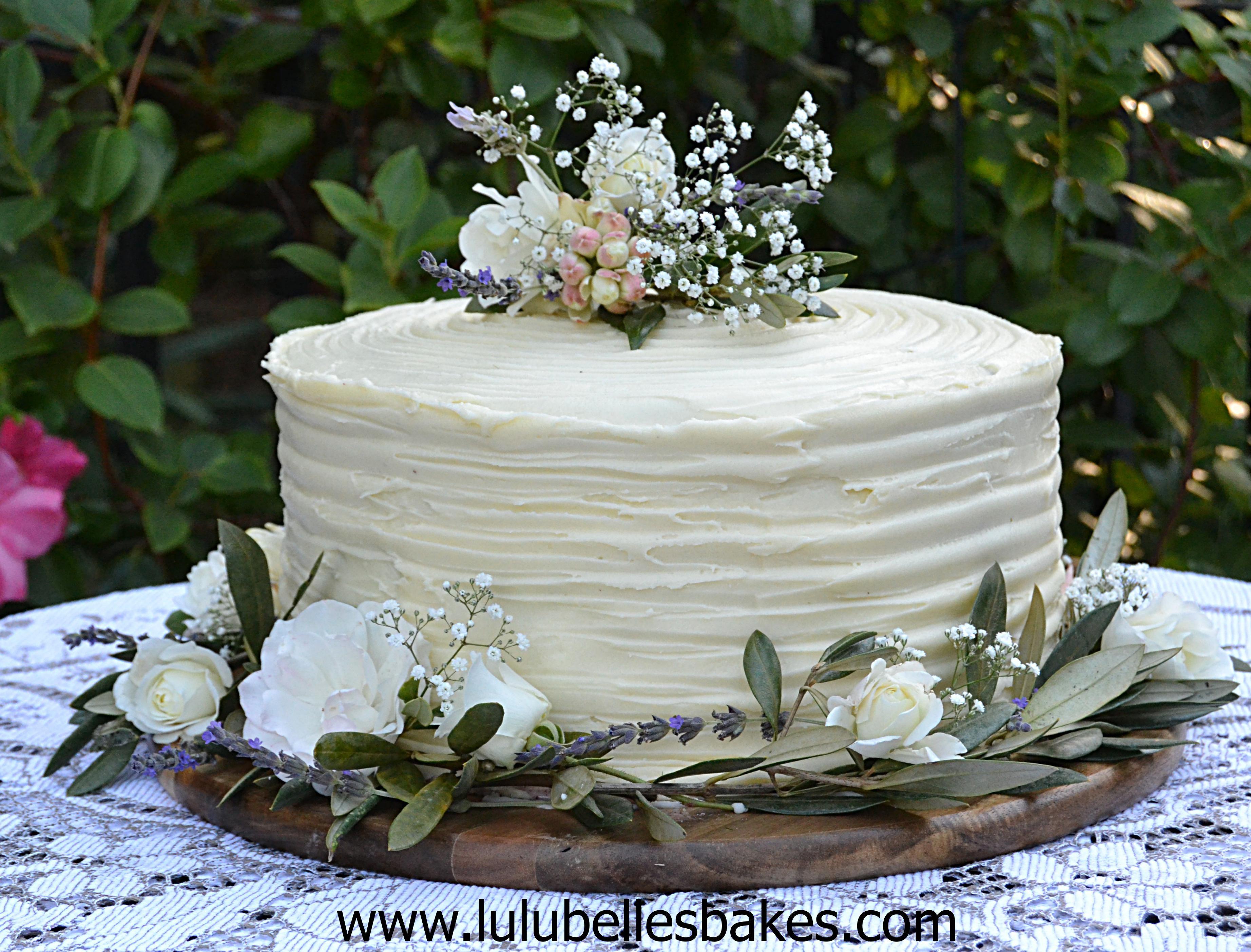 3 Layered Wedding Cakes  Wedding cakes engagement party Pinterest