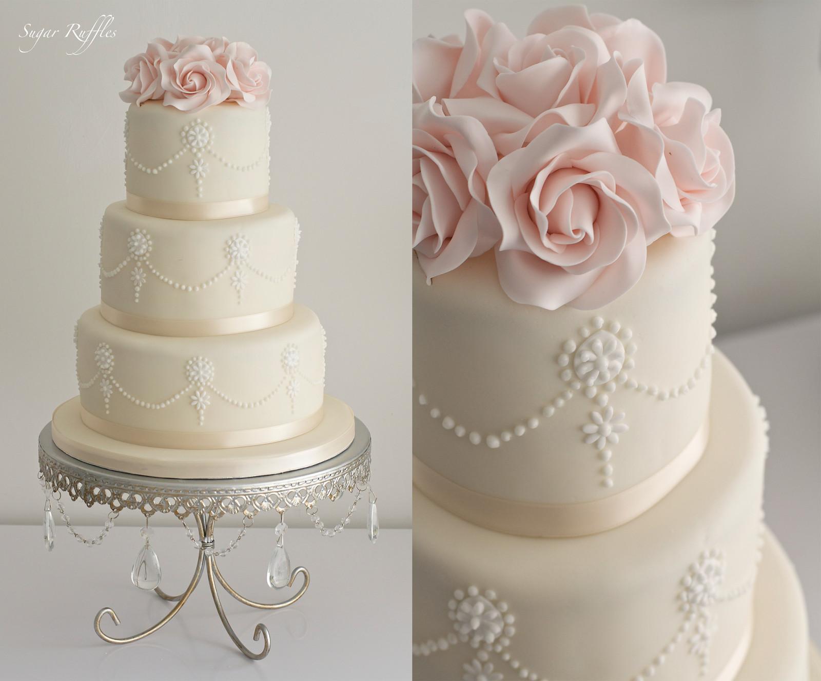 3 Layered Wedding Cakes  Three Layer Wedding Cakes