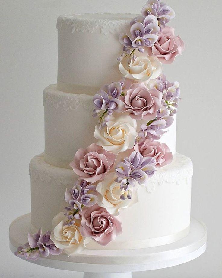 3 Layered Wedding Cakes  3 Layer Wedding Cakes