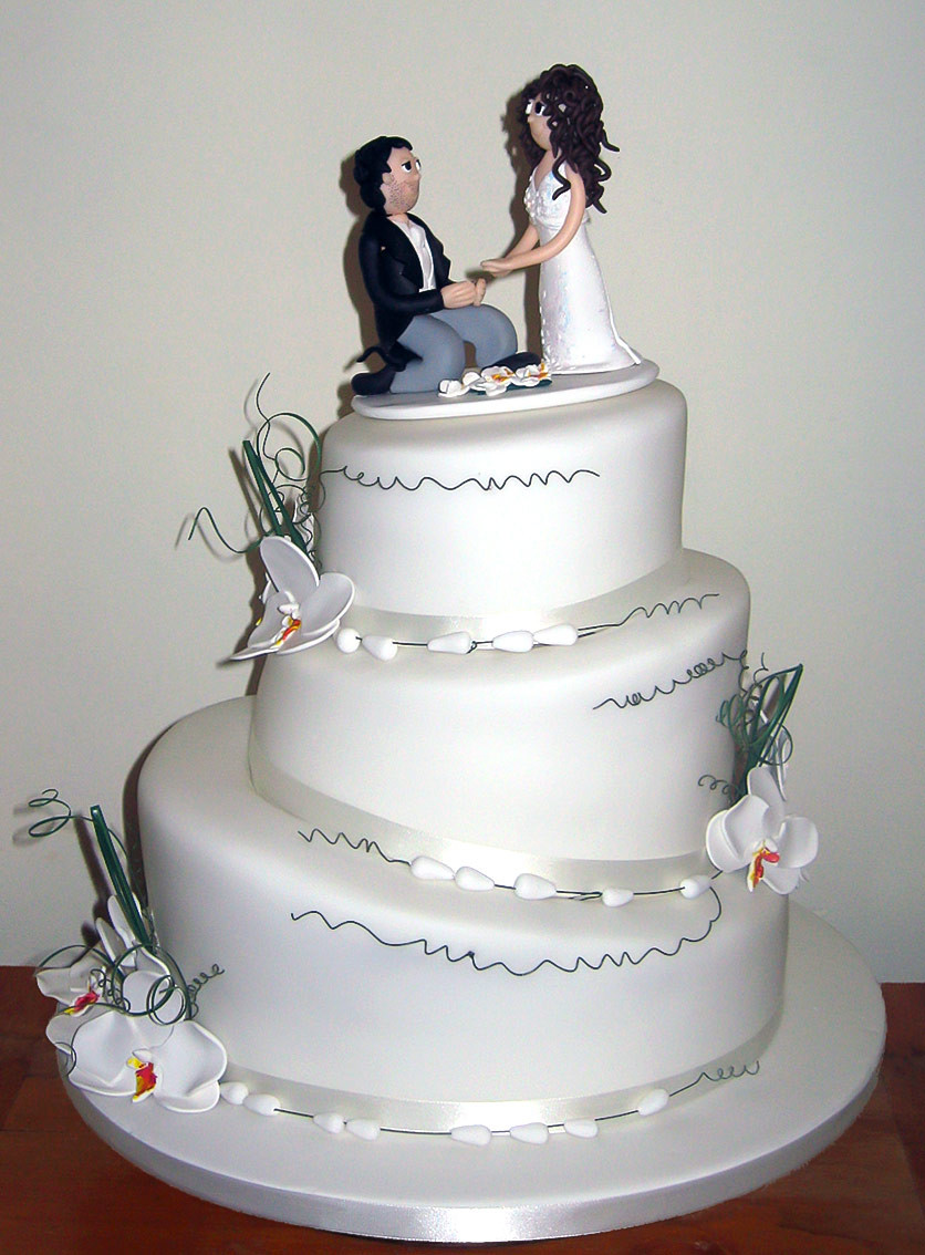 3 Tier Wedding Cakes Designs  Wedding Cakes Gallery