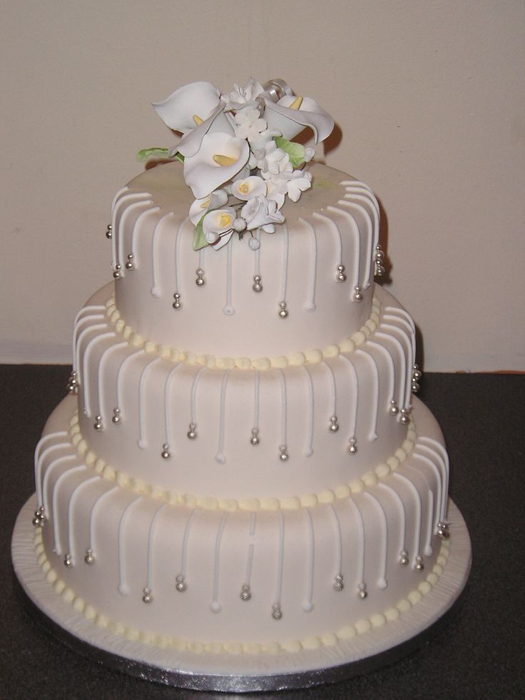 3 Tier Wedding Cakes Designs Best 20 3 Tier Wedding Cake Designs Wedding and Bridal Inspiration