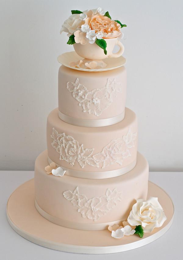 3 Tier Wedding Cakes Designs  20 Wedding Cake Ideas from Sugar Ruffles