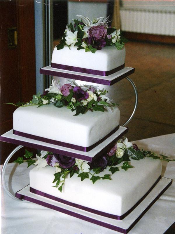 3 Tier Wedding Cakes Designs  Fashion and Art Trend Elegant Wedding Cake