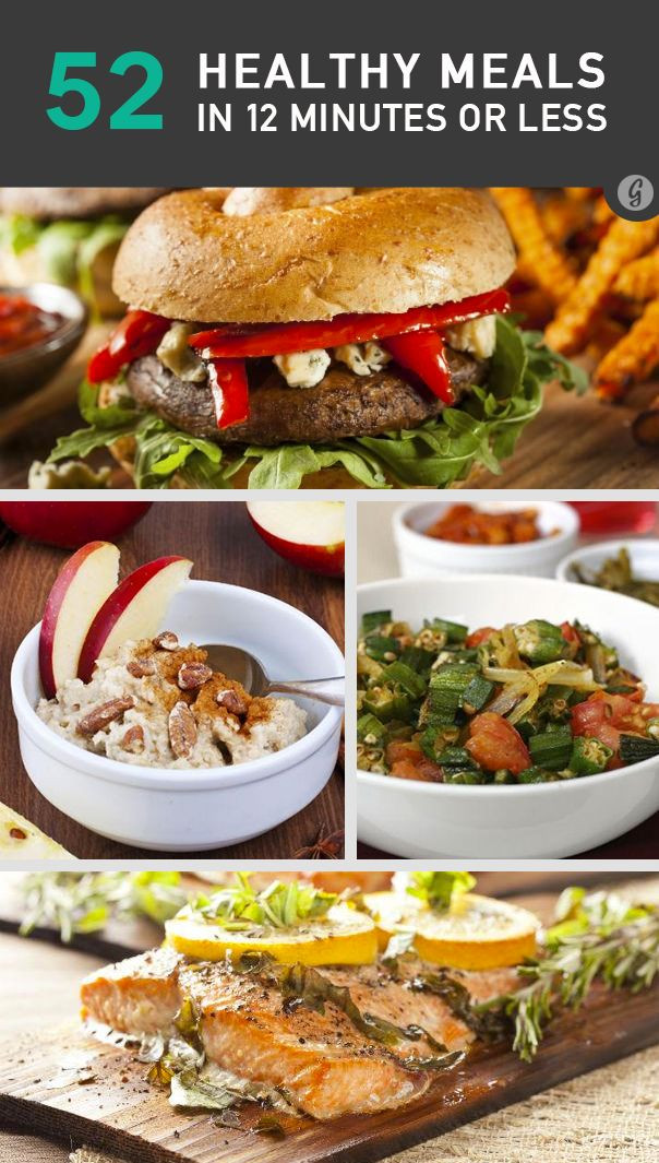 30 Minute Meals Healthy  52 Healthy Meals in 12 Minutes or Less