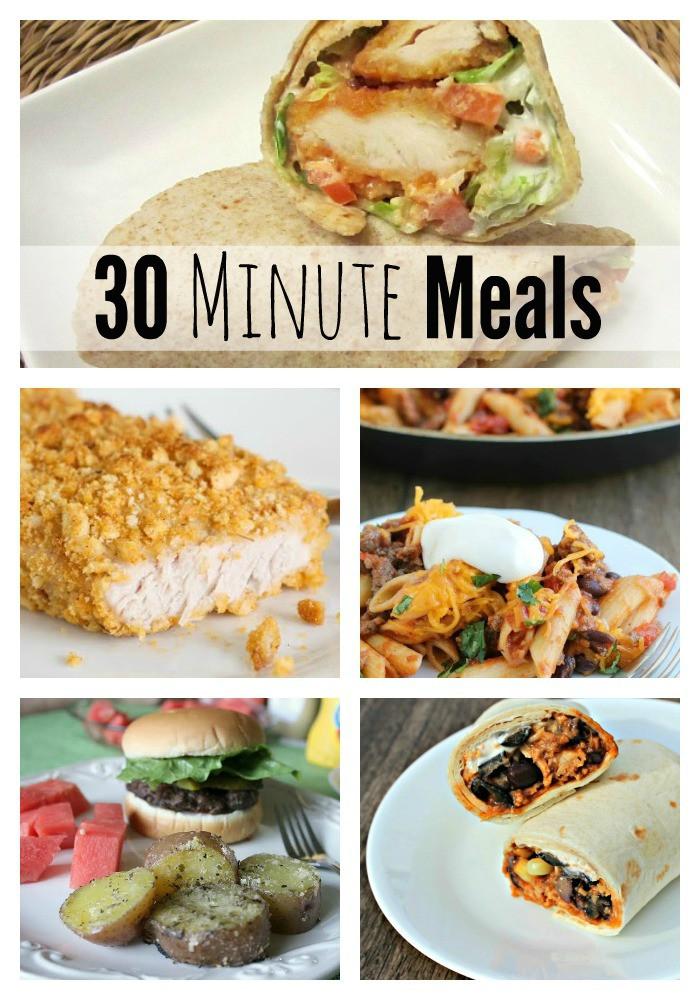 30 Minute Meals Healthy  30 minute meals 30 minute meals fabulessly frugal