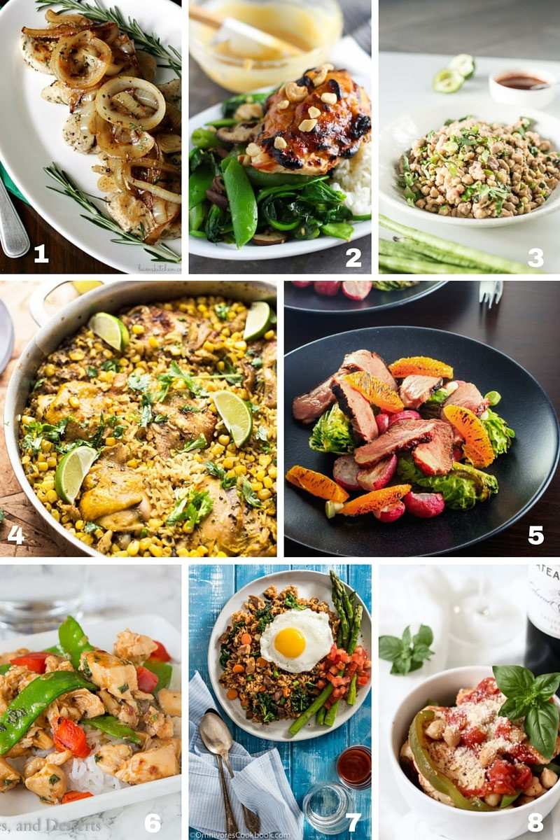30 Minute Meals Healthy  58 Healthy 30 Minute Meals for Busy Families