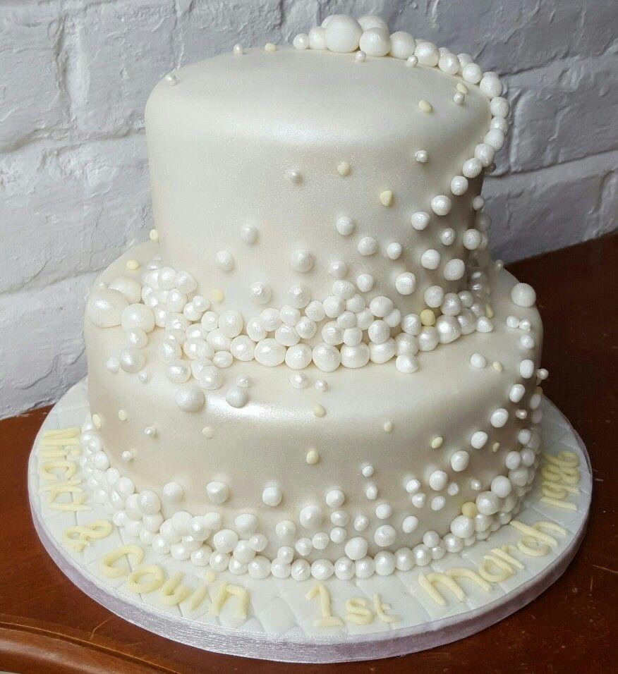 30Th Wedding Anniversary Cakes  30th Pearl Wedding Anniversary cake dreams