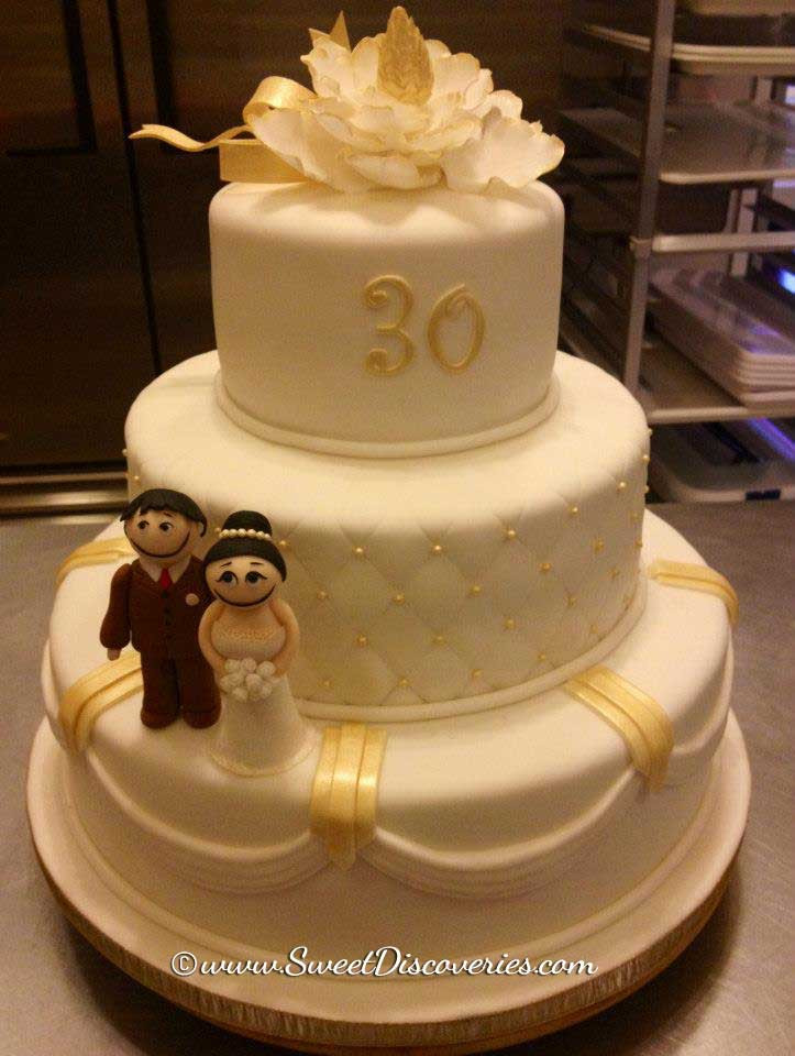 30Th Wedding Anniversary Cakes  30th Wedding Anniversary Cake