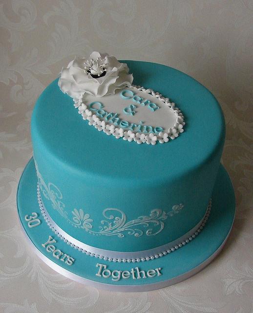 30Th Wedding Anniversary Cakes  9554df12ec z