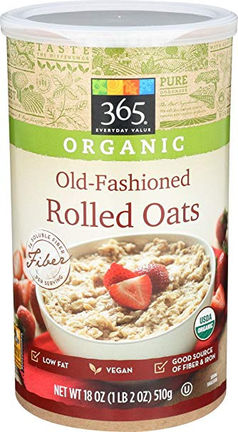365 Organic Old Fashioned Rolled Oats  Organic Rolled Oats Nutritional Value Nutrition Ftempo