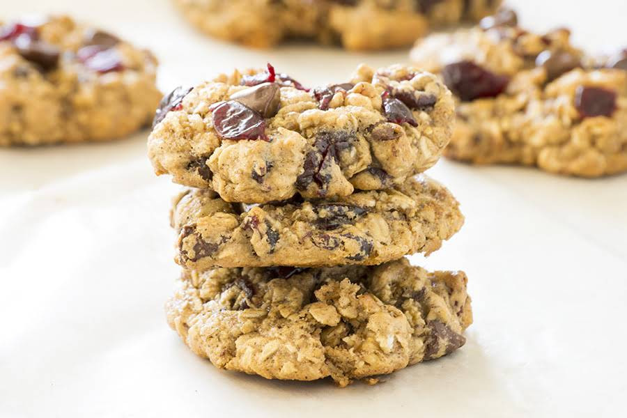 365 Organic Old-Fashioned Rolled Oats  10 Best Healthy Oatmeal Cranberry Walnut Cookies Recipes