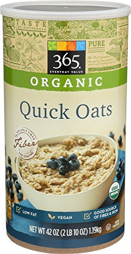 365 Organic Old Fashioned Rolled Oats  pare price to organic oats