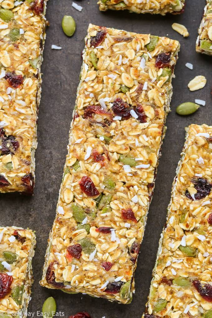 365 Organic Old-Fashioned Rolled Oats  10 Best Healthy Honey Nut Bars Recipes