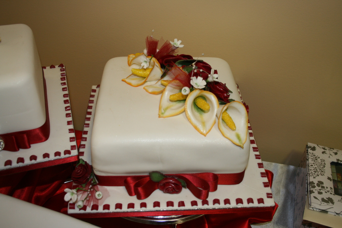 40Th Wedding Anniversary Cakes  40th Wedding anniversary Cake Cake Decorating munity