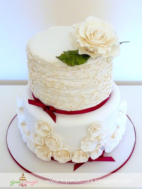 40Th Wedding Anniversary Cakes  Top That 40th Wedding Anniversary Ruby