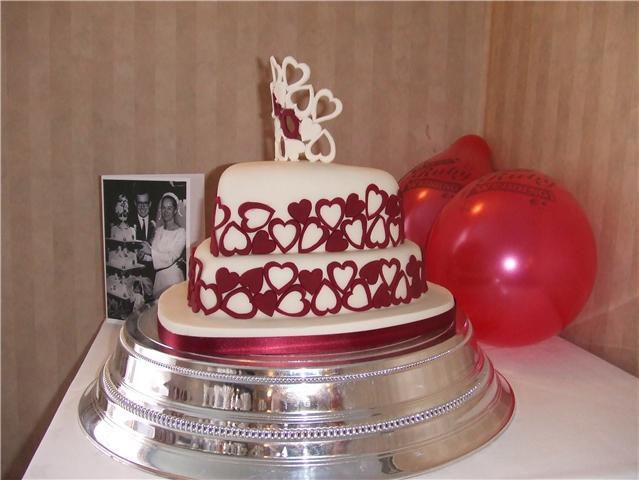 40Th Wedding Anniversary Cakes  Latset Happy 40th Wedding Anniversary Party Invitations