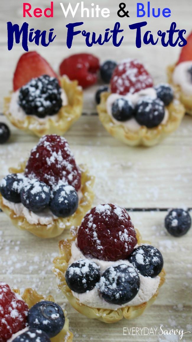 4Th July Desserts  Easy 4th July Dessert Red White & Blue Dessert Recipe
