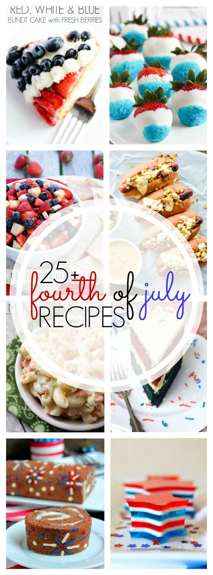 4Th Of July Appetizers And Side Dishes  25 Must See July 4th Recipes Yummy Healthy Easy