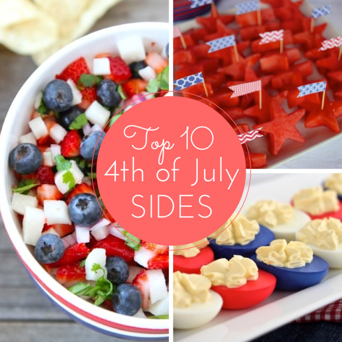 4Th Of July Appetizers And Side Dishes  Top 10 Fourth of July Sides July Recipes