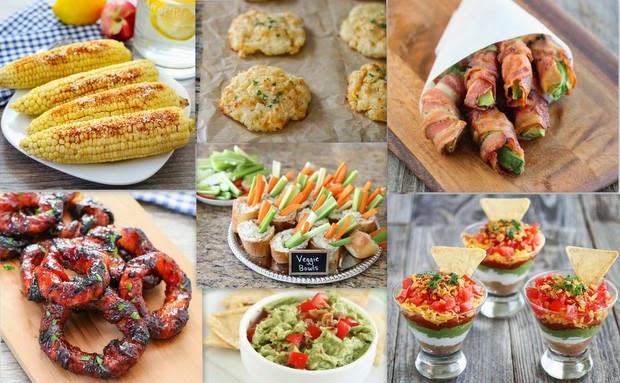 4Th Of July Appetizers And Side Dishes  July 4th Recipe Round Up Kirbie s Cravings
