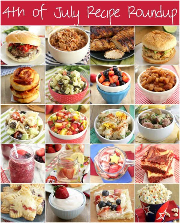 4Th Of July Appetizers And Side Dishes  4th of July Recipe Roundup Eat Drink Love
