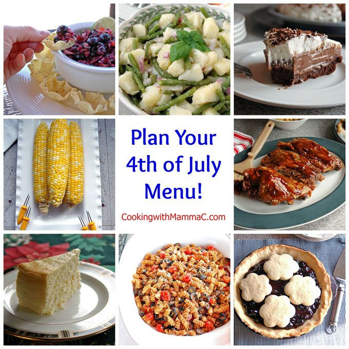 4Th Of July Appetizers And Side Dishes  46 best images about Fourth of July on Pinterest