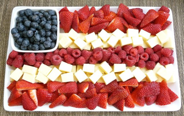 4Th Of July Appetizers Red White And Blue  Food for the Fourth 17 Red White & Blue Recipes For