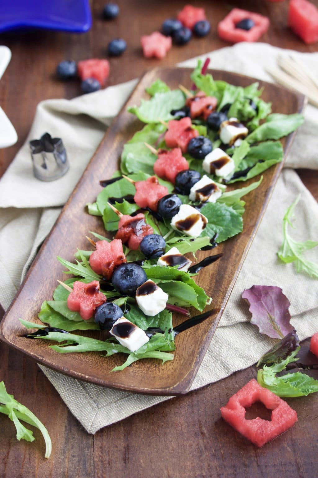 4Th Of July Appetizers Red White And Blue  5 Minute 4th of July Appetizer Star Spangled Skewers