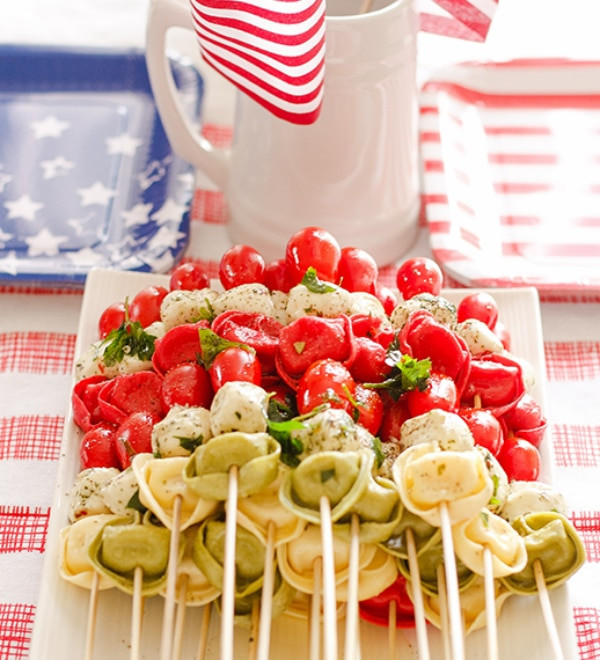 4Th Of July Appetizers Red White And Blue  12 4th of July Appetizers to Celebrate thegoodstuff