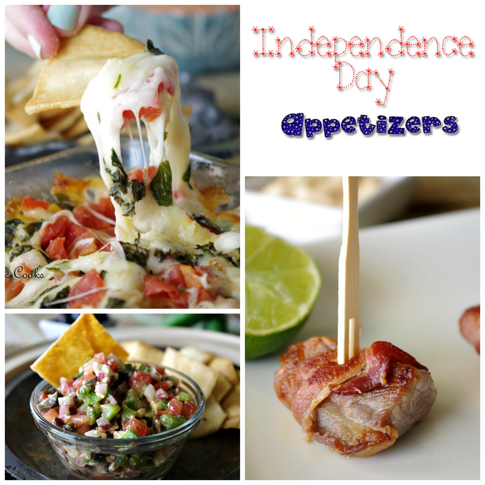 4Th Of July Appetizers  Independence Day Appetizers