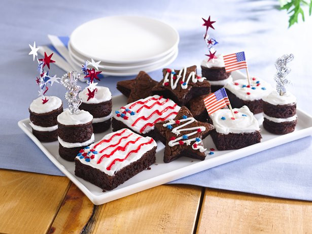 4Th Of July Brownies  Stars and Stripes Brownies recipe from Betty Crocker