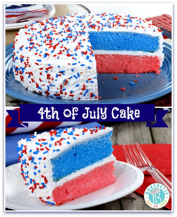4Th Of July Cake Recipes  4th of July Cake Bakerette