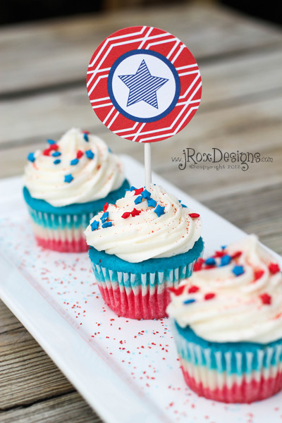 4Th Of July Cupcakes  Craftaholics Anonymous