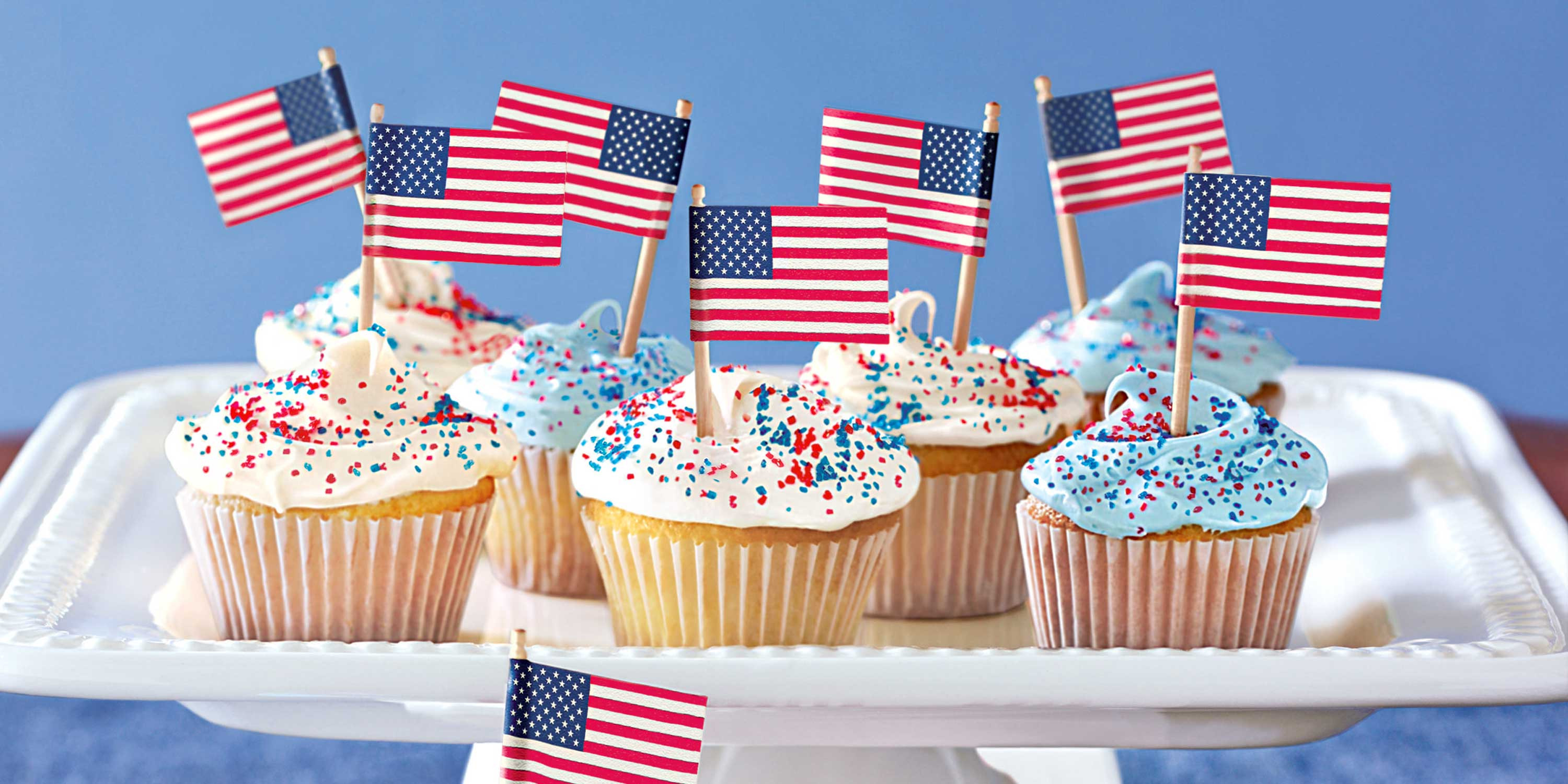 4Th Of July Cupcakes  17 Easy 4th of July Cupcake & Cakes — Recipes for Fourth