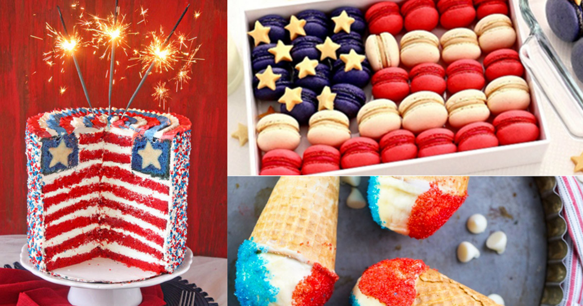 4Th Of July Dessert Recipes  4th of July Desserts and Patriotic Recipe Ideas