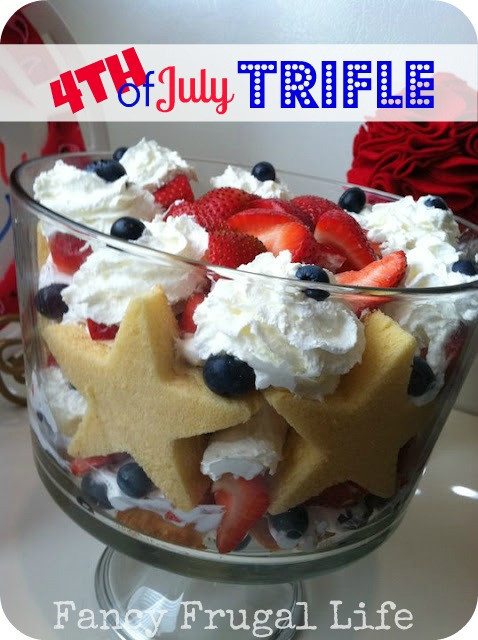 4Th Of July Desserts Easy Recipes  4th July Trifle Recipe