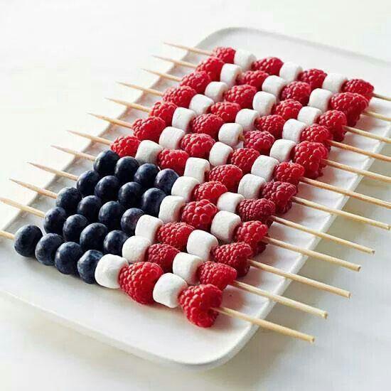4Th Of July Fruit Desserts  4th of July Flag Fruit Dessert Our Motivations Art