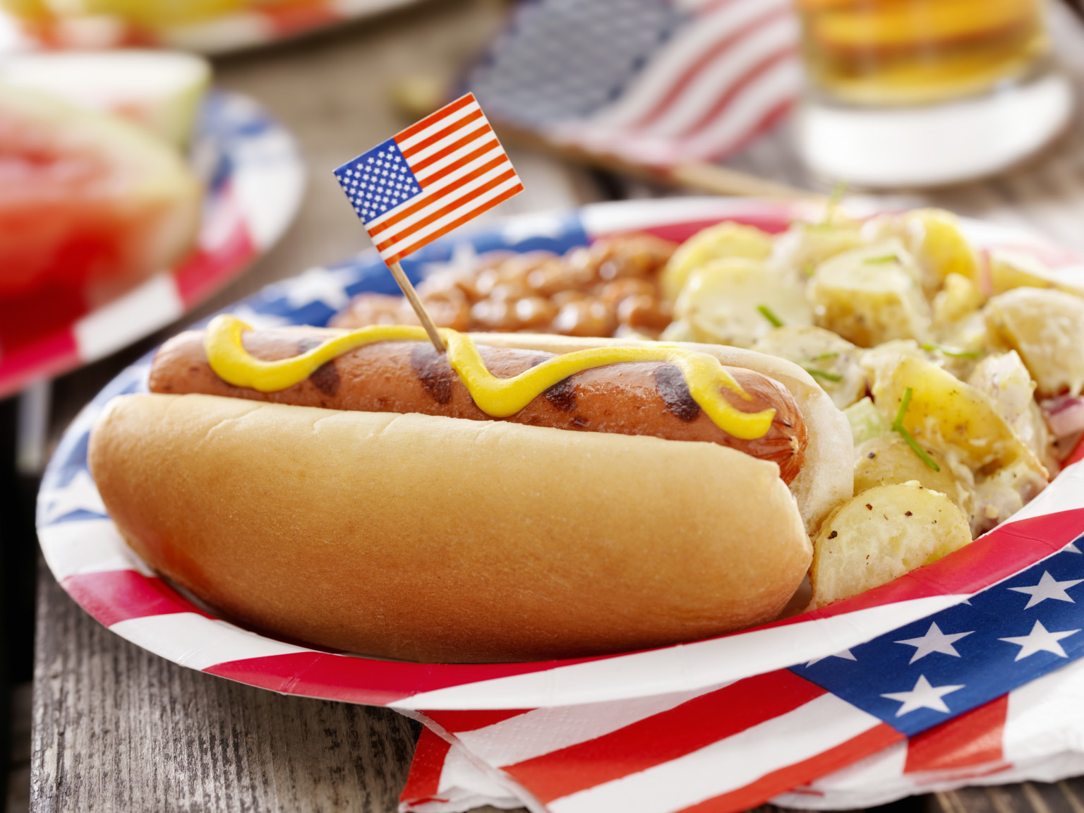 4Th Of July Hot Dogs  July 4th Restaurants In D C Where To Eat In The Nation s